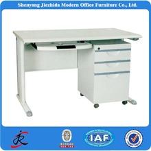l shape office desk with steel frame modern style metal frame office desk, europ style executive table