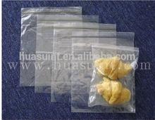 LDPE Plastic Clear zip lock bags