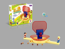 sport funny finger ABS battery mini table basketball game with EN71