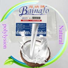 Natural compound biological preservatives for coconut milk