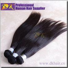 DK Guangzhou brazilian remy hair natural raw malaysian hair
