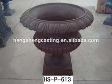 antique cast iron urns,garden planter