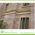 Piedra de la pizarra buena outdoor decorar azulejo losa natrual rosa pizarra cantera de piedra