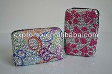 Fashion bling business card case/plastic credit card holder