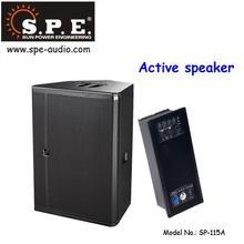 15 inch active speaker SP-115A powered speaker waterproof 400W multi-function self powered speaker