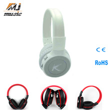 Hot Selling wireless headset support tf card and fm radio Made in China