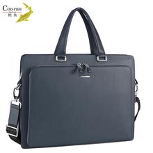 Sole agent new tide men leather meet European leather briefcase men design pictures of laptop bag