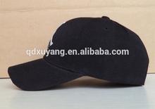 customized black baseball cap basketball cap embroidery logo design
