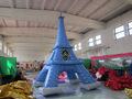 de alta 5m publicidad inflable de aire de la torre eiffel para la venta