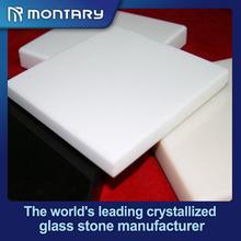 high hardness white polished decoration glass