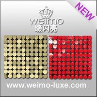 2014 sequin disc panel for wholesale bohemian home decor
