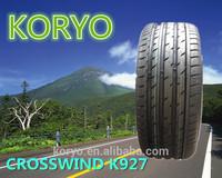 HAIDA /KORYO BRAND 225 40 18, 215 45 17 ,245 35 20, high quality UHP china tire