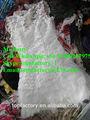 Crème vêtements de seconde main recyclage utilisé chaussures vêtements