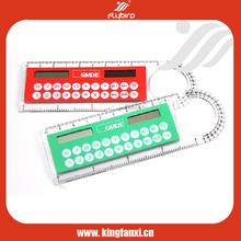 Ruler promotion solar electronic calculator