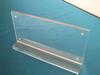 wholesale desktop magnetic clear acrylic sign holder