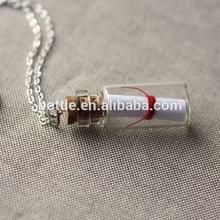 free sample glass vial pendant