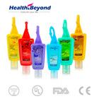 29ml Travel hand sanitizer gel with silicon holder
