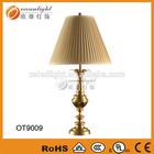 ceramic table lamp,chandelier table lamp,christmas table lamps OT9009