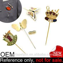 manufacture metal enamel custom stick men suits lapel pins