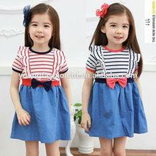Chine approvisionnement mignon Design party girl robes 12 anos pour enfants