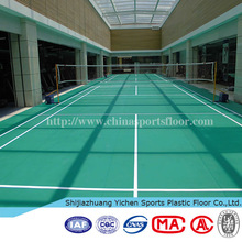 High quality badminton court vinyl flooring water resistant