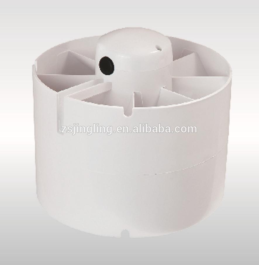 Inline bathroom exhaust fan