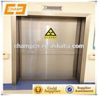 ZG0617 automatic steel painted sliding hospital safety door clean room door