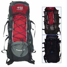 military hunting canvas back pack wash hiking travel bag khaki pack
