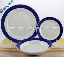 Contemporary hot-sale dinnerware set dark blue
