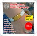 Noproblem P036G stainless steel fashion energy elastic fitness adjiustable wristband wholesale bracelet