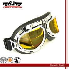BJ-GT-004 steampunk riding spy goggles moto