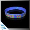 popular purple color rubber wristbands/silicone bracelets
