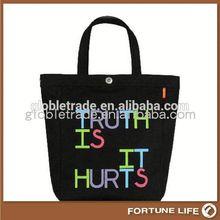 Cotton promotional bags custom tennis bag FL-CB04681