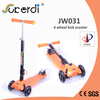 120/100mm four wheeled scooter 3.5kg foldable child kick portable scooter