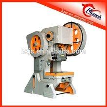 plastic film package manual power press for shelf making, manual power press machine in stock