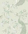 Detai estilo chino del pavo real diseño de la decoración del hogar / de moda purepaper revestimientos de paredes