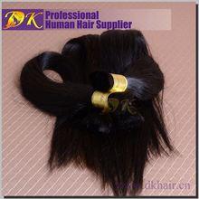 Guangzhou DK 5a cheap 100% brazilian bulk hair ultra braid hair