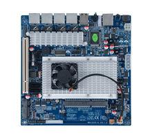Firewall Motherboard 4 LAN Atom D2550 Embedded DC 12V Motherboard