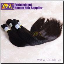 Guangzhou DK 2014 the best selling products brazilian bulk hair african kanekalon hair braid