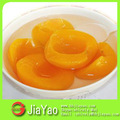 Lista de legumes e frutas alimentos enlatados em conserva frutas em calda luz pêssegos amarelos enlatados