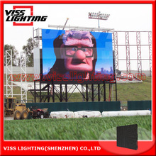 outdoor stage video wall/P6/10 outdoor rental LED display/P3/6/10 outdoor panel/LED curved wall display screen