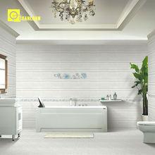 rustic bathroom tile plant wall tils