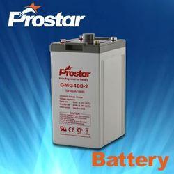 High Capacity Solar Recycling Lead Acid UPS Gel Batteries 2V 500AH
