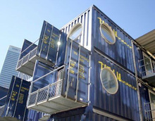 multy storey container house for sale
