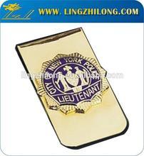 New Custom Folding Enamel Metal Wallet Money Clip