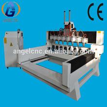 Ag1315 um a oito eixo de rotação com alta precisão CNC madeira Router