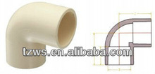 CPVC 90deg Elbow Pipe Fittings For Hot Water