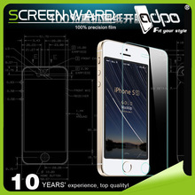 Tempered glass screen protector armor film for iphone 5 anti shock anti glare