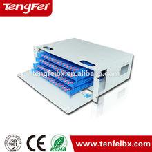 144 port fiber optic patch panel rack mount ODF 144 port
