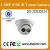 mini digital camera 1.3mp hikvision ip dome camera DS-2CD2312-I